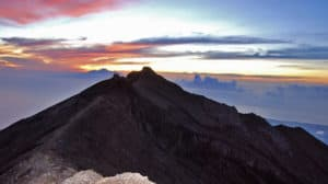 agung volcanoes, mountain agung,