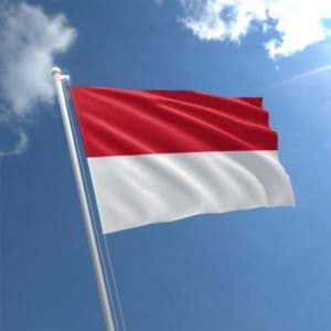 Indonesia Flag, Red white flag, Merah Putih