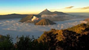 gunung kelud, volcanoes, volcano, mountain