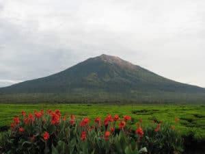 gunung kerinci, kerinci volcano