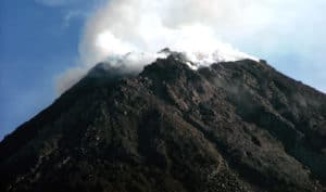 merapi mountain, MOUNT MERAPI, VOLCANOES, FACT OF VOLCANOES