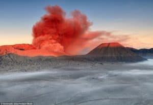 mount bromo, volcanoes volcano