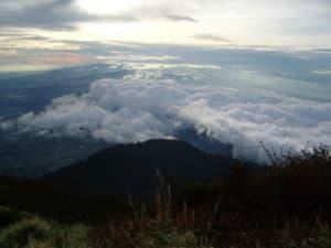 slamet mountain, volcano, slamet volcano