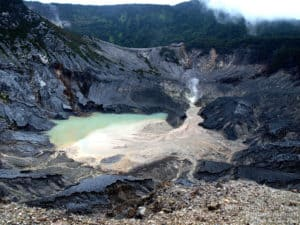 mount tangkuban perahu, volcanoes, volcano