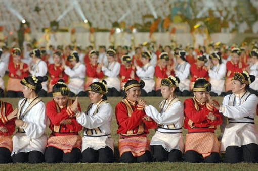 Traditional dance, saman dance, Indonesian dance