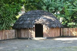 Papua culture, traditional house