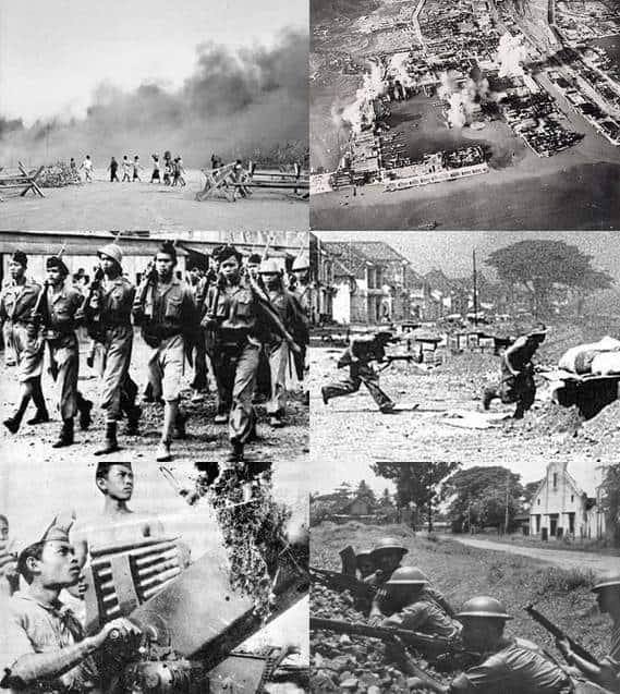 Battle of Surabaya, Surabaya war, dutch colonized, independence day