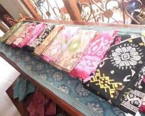 traditional fabric, ikat fabric, indonesian product