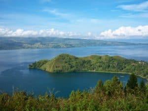 Toba lake, beautiful lake