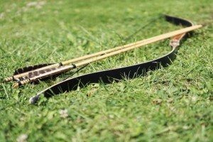 traditional weapon, papuan culture, papuan traditions