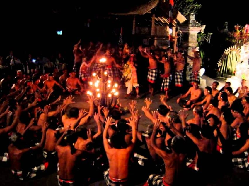 Kecak Dance In Bali Indonesia – History – Attractions