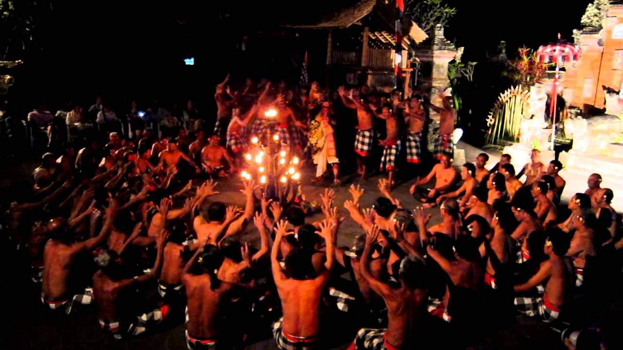 kecak dance in bali indonesia - history