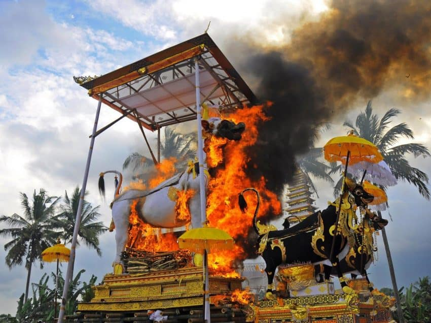 The Unique Tradition of Balinese Funerals in Indonesia