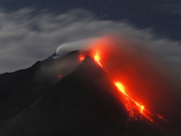 Top 17 Biggest Volcano Eruption In Indonesia