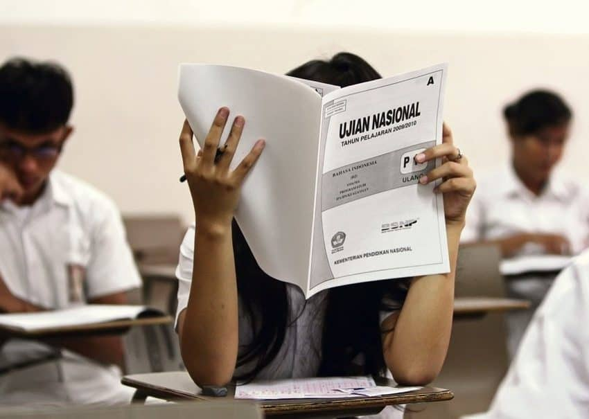 History of National Exam in Indonesia