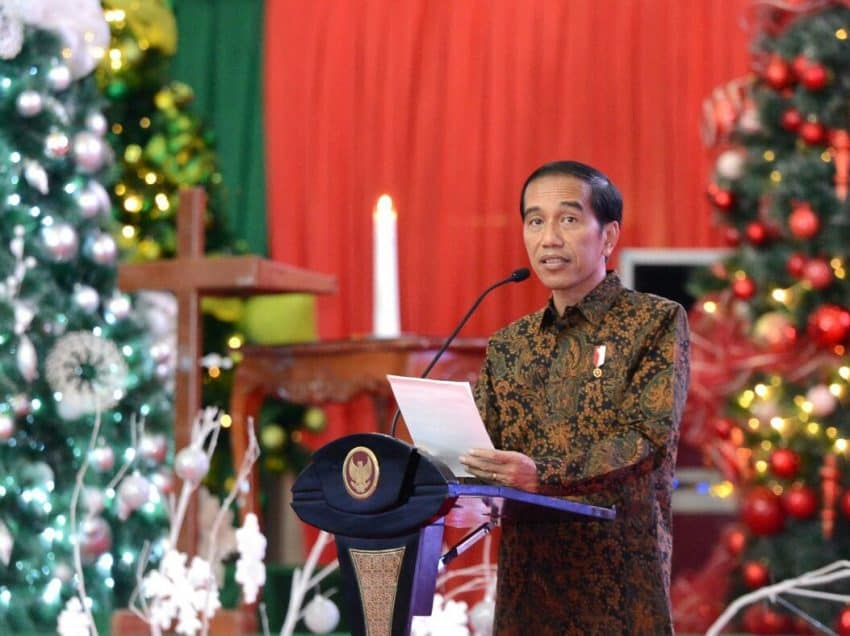 Christmas Day Celebration in Indonesia