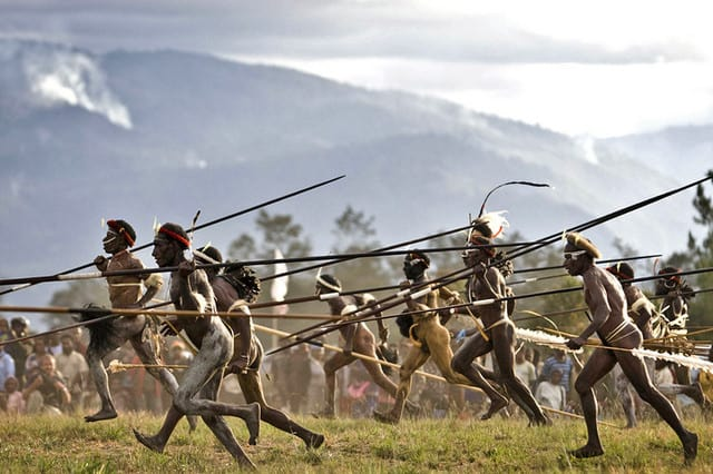 The Epic Baliem Valley Festival in Indonesia