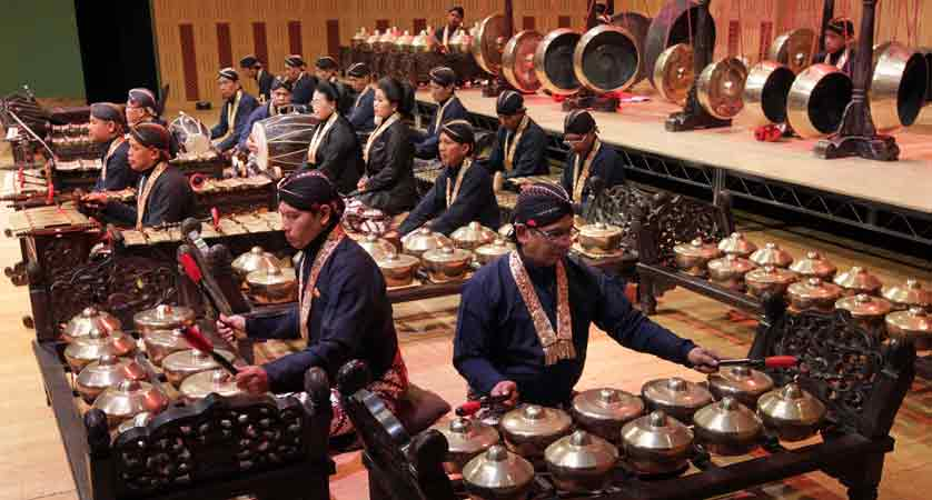 Complete Set of Gamelan Orchestra Instruments  Facts of Indonesia