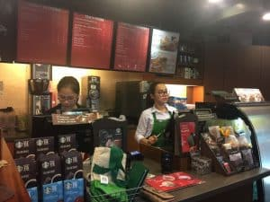 coffee centraljak starbucks gambir