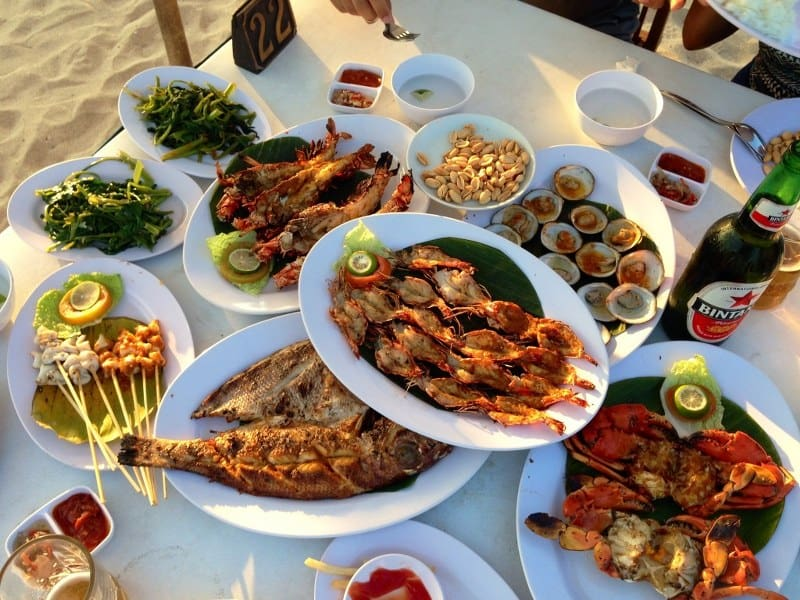 12 Best Sea Food Restaurants in Bali Jimbaran