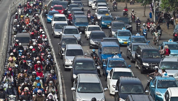 12 Terrifying Facts about Traffic Jam in Jakarta