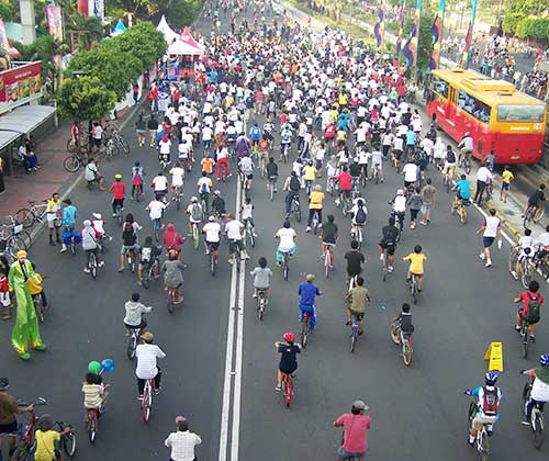 13 Reasons Why Jakarta Do Car Free Day Every Sunday