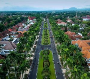 The view of Malang City