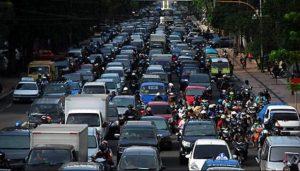 Traffic in Surabaya