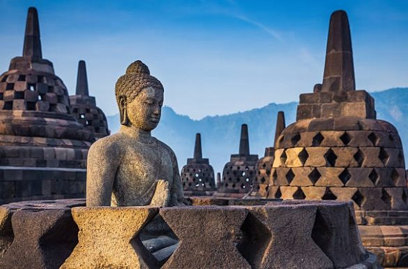 Etiquettes in Borobudur Temple