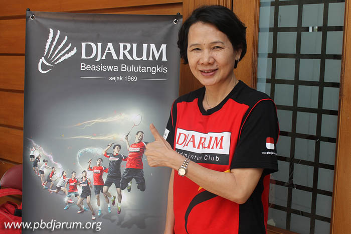 Indonesian Legendary Female Badminton Player - Ivana Lie