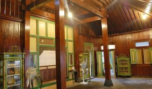 Inside of Traditional House of Javanese - Joglo