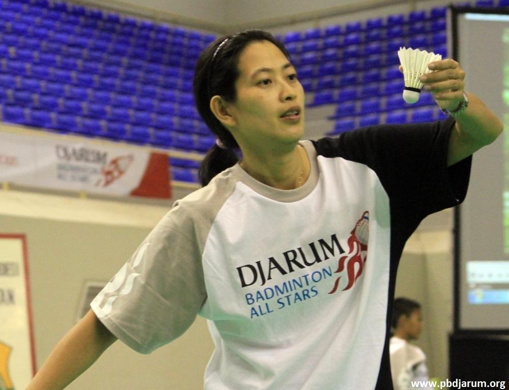 Indonesian Legendary Female Badminton Player - Yuliani Santosa