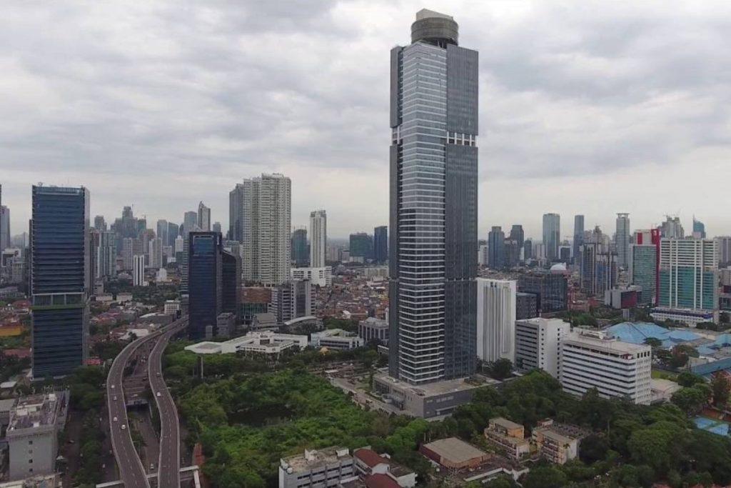 Tallest Building in Indonesia - Gama Tower