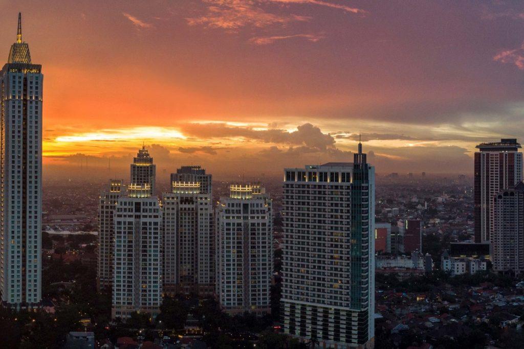 Tallest Building in Indonesia - Pakubuwono Signature