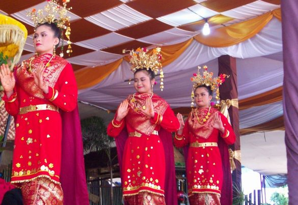 traditional dances from bengkulu