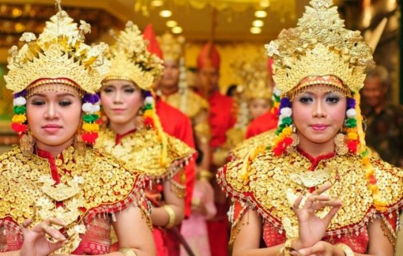 traditional dances from south sumatra