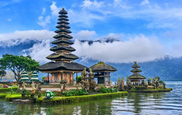 bali's most popular tourism spot