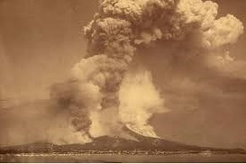 Krakatoa Mount Eruption