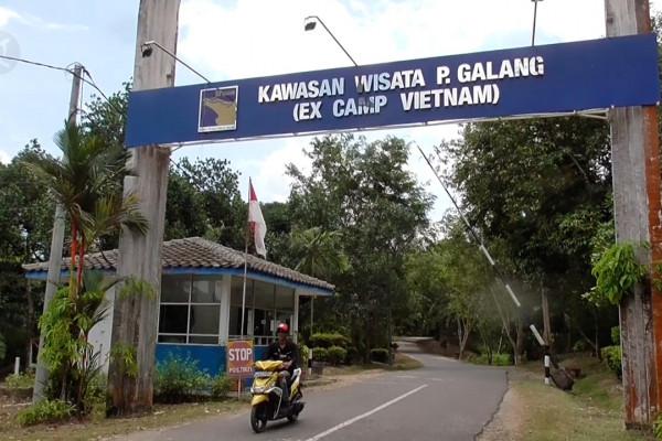 Galang Island Camp