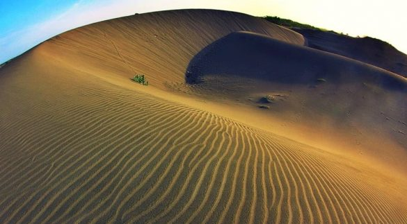 desert in indonesia