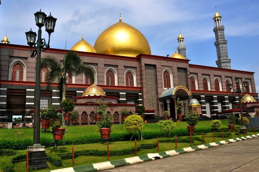 The Mosque of Gold Dome