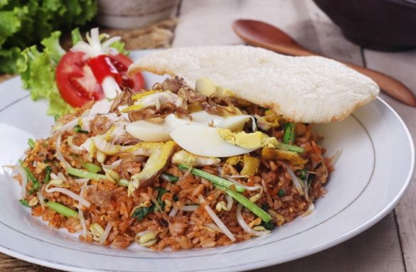 types of indonesian nasi goreng