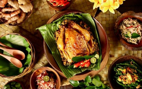 chicken dishes in indonesia