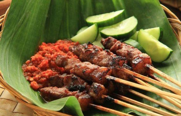 indonesian satay dishes