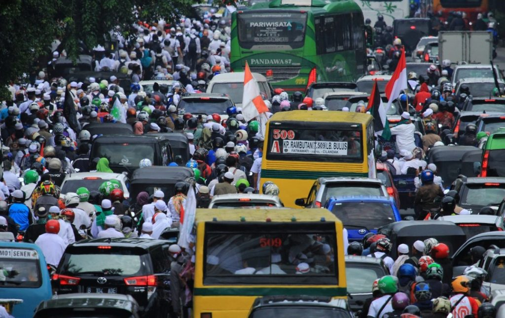 Indonesian Traffic Jam