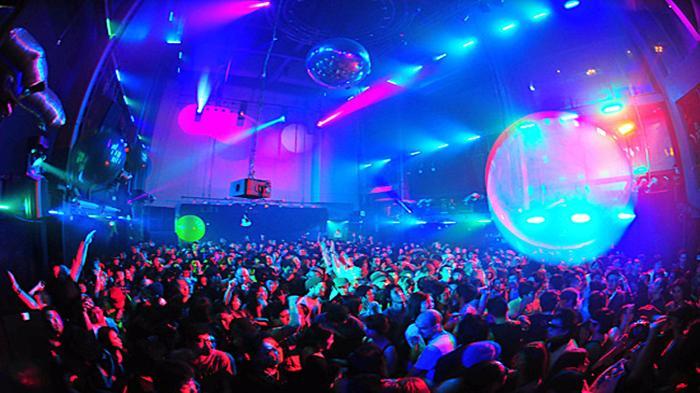 having party at nightlife