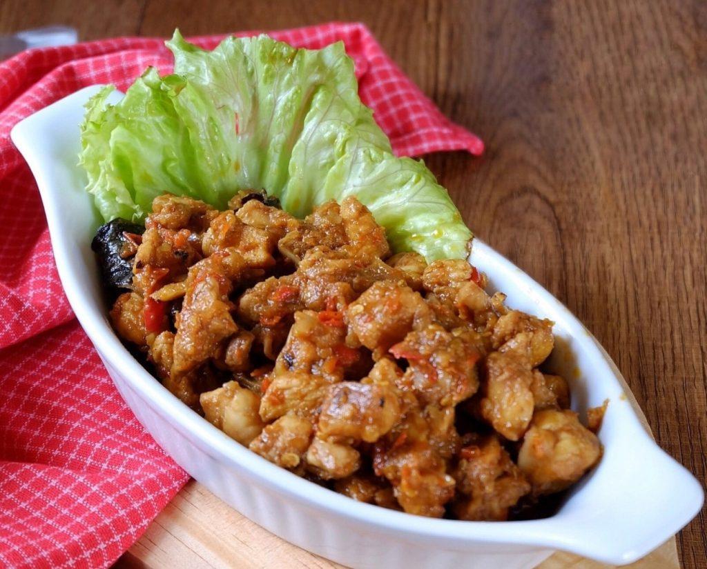 Nasu Palekko Chicken