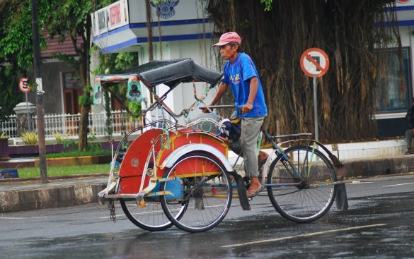 traditional transportation in indonesia