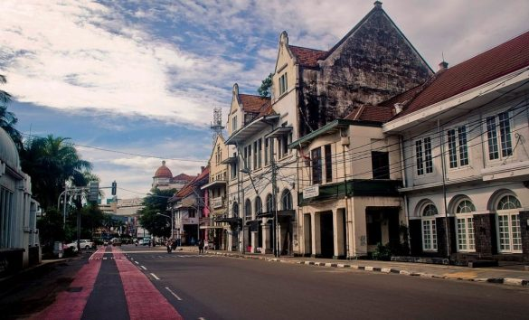 old towns in indonesia