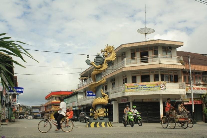 Singkawang old town